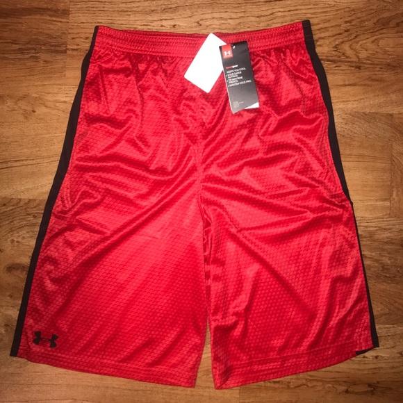 boys under armour basketball shorts